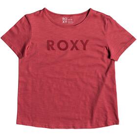 Roxy Red Sunset A Maglietta a maniche corte Donna rosso